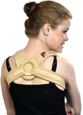 Vitane Perfekt Clavical Brace Shoulder Support (S, Beige)
