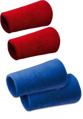 Verceys SportsBand Wrist Support (Free Size, Red, Blue)