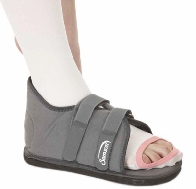 Samson Cast Shoes Foot Support (M, Grey)