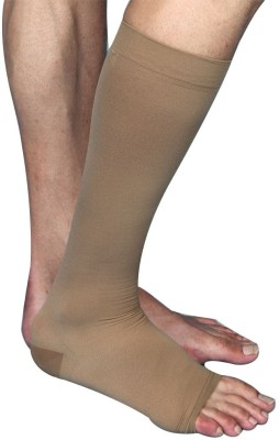 Aktive Support 593BK Knee, Calf & Thigh Support (XL, Beige)