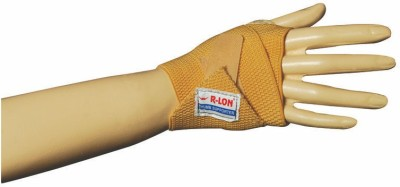 R-Lon Best Ever Wrist Support (Free Size, Brown, Blue)