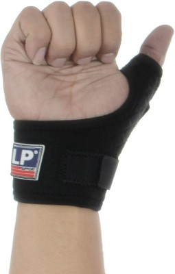 LP Support 563CA Wrist Support (Free Size, Black)