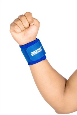 Orthotech Wrist Support Wrist Support (Free Size, Blue)