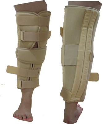 Acco Knee BraceLong Type Knee Support (L, Beige)