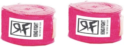 Ring Fight Hand Wrap Wrist Support (XL, Pink)