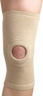Flamingo Open Patella Cap Knee Support (M, Beige)