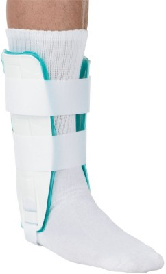 Zcare Pharma Air Gel Binder Pain Relief Ankle Support (Free Size, White)
