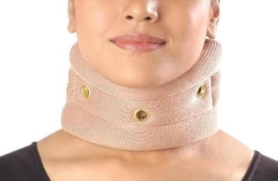 Vissco Cervical Collar without Chin Regular Neck Support (M, Beige)