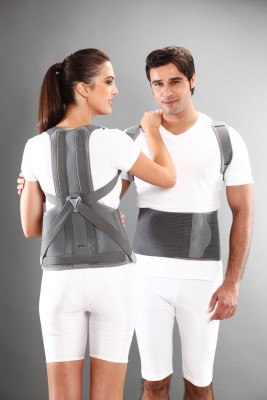 Tynor Taylors Brace Long Type (Special Size) Shoulder Support (Free Size, Grey)