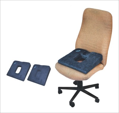 SALO ORTHOTICS DONUT BACK SUPPORT CUSHION Hip Support (Free Size, Blue)