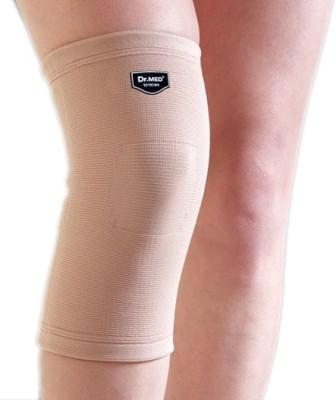 Dr.Med Sleeve Soft Compression Knee Support (L, Beige)