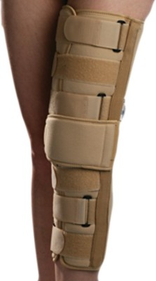 Zcare Pharma Immobilizer Neoprene fabric Knee, Calf & Thigh Support (L, Beige)