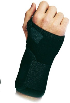 Relief Carpal Tunnel Right Wrist Support (Free Size, Black)