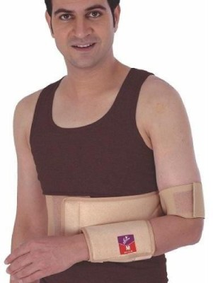 Flamingo Elastic Shoulder Immobilizer Shoulder Support (S, Beige)