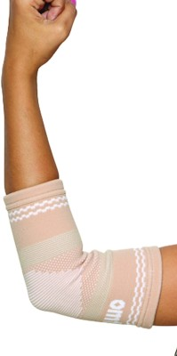 Omtex Superior Elastic Elbow Support (XL, Beige)