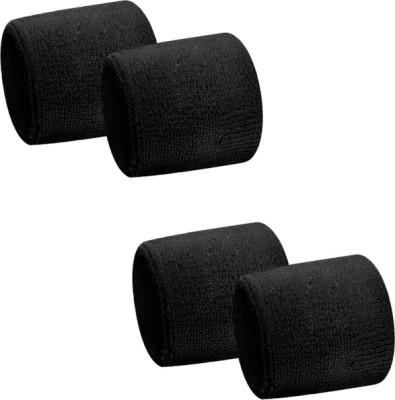 Verceys SportsBand Wrist Support (Free Size, Black)