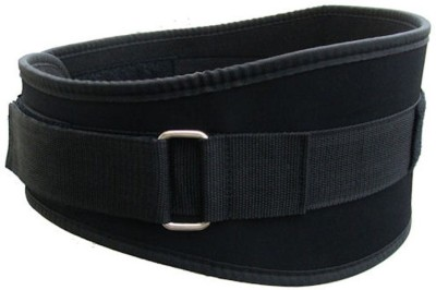 Protoner 6 Inches Wide Waist Support (S, Black)