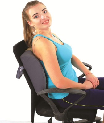 Ache Cure Back Rest Support L size Back Support (L, Grey)