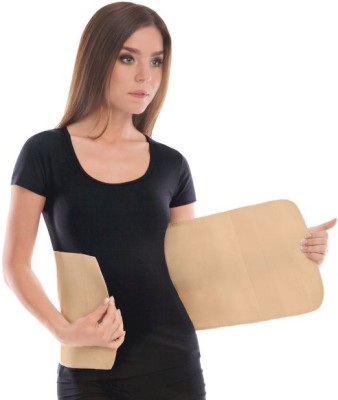 Satnam Abdominal Belt Back & Abdomen Support (M, Brown)