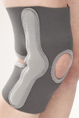 Neutral Supports Elastic Knee Support Knee Support (L, Beige)