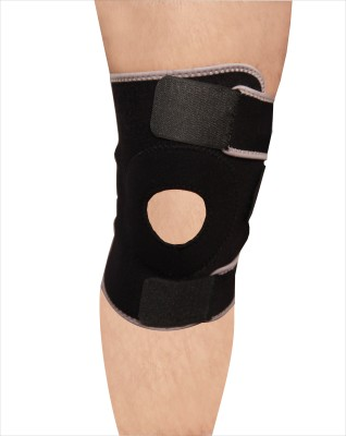 Hawk AW7017 Knee Support (Free Size, Black)