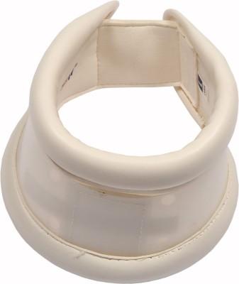 SafeAnBTouch Cervical collar Hard Adjustable Neck Support (M, Beige)