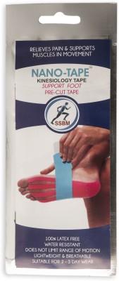Nano-Tape Pre-Cut Kinesiology - Planatr Fascia Foot Support (Free Size, Pink, Blue)