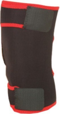 Nivia Nivia Knee Support Velcro Knee Support (Free Size, Black, Red)