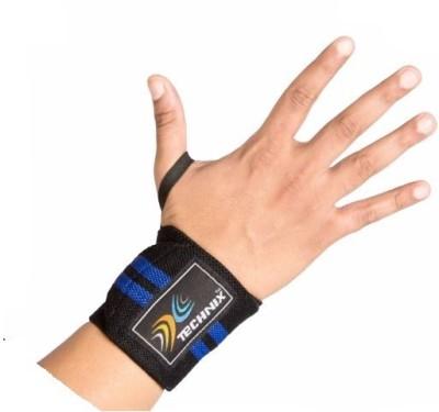 Technix 8907313007547 Wrist Support (Free Size, Black)