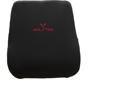 BOLSTER BACK REST Lumbar Support (Free Size, Black)