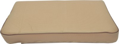 Life Line Services Cervical Pillow Neck Support (Free Size, Beige)