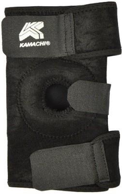 Kamachi Adjustable Knee Support (Free Size, Black)
