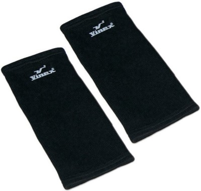 Vinex KneeCaps - Gold (Pair) Knee Support (Free Size, Black)