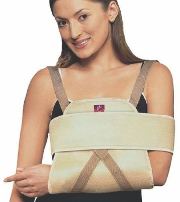Flamingo Universal Shoulder Immobilizer Shoulder Support (L, Beige)