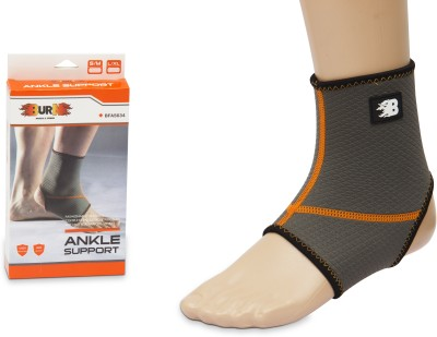 Burn Large / Xtra Large Ankle Support (L, Grey)