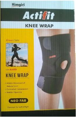 ACTIFIT WRAP Knee Support (M, Black)