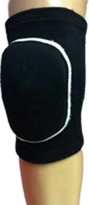 R-LON Dancing knee Pad Rounded Knee Support (Free Size, Black)