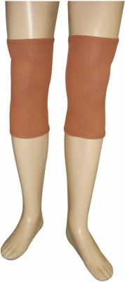 R-Lon Best Ever Knee Support (Free Size, Brown)