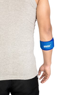 Orthotech Tennis & Golf Elbow Support Elbow Support (Free Size, Blue)