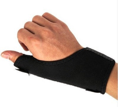 Jern SUPPORT Thumb Support (Free Size, Black)