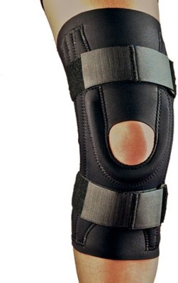 Real Choice Velcro Knee Support (XL, Black)