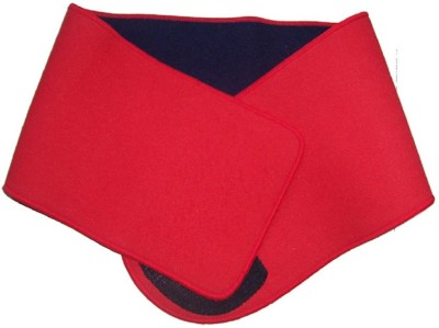 Vinto Slim Fast N Fit Black Red Back & Abdomen Support (Free Size, Multicolor)
