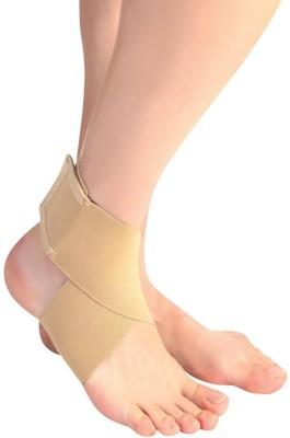 Zcare Pharma Binder Belt Wrap Ankle Support (Free Size, Beige)