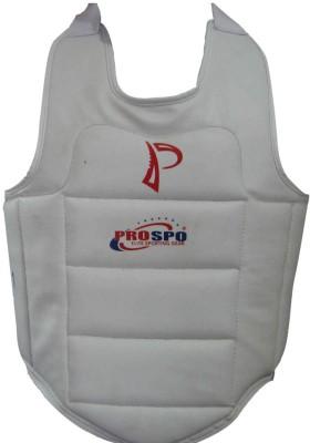 PROSPO karate chest guard NA (L, White)