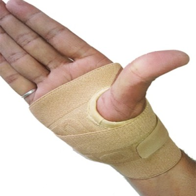 Real Choice th-22 Thumb Support (Free Size, Beige)