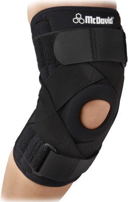 McDavid Ligament 425R (L) Knee Support (L, Black)