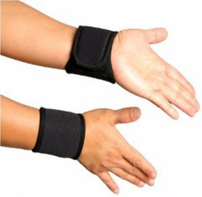 Turion Binder Wrist Support (Free Size, Black)