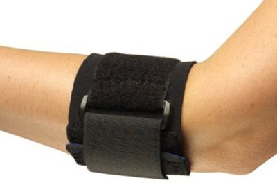 Turion Tennis Elbow Support (Free Size, Black)
