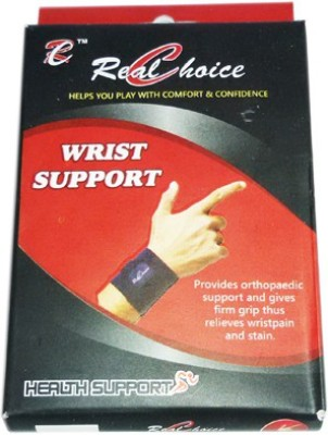 Real Choice Wrist band Waist Support (Free Size, Black)