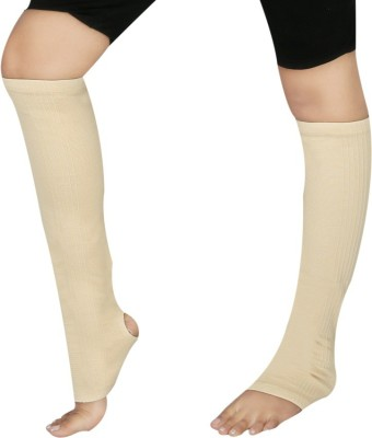 GNRPHARMA Elastic Tubular Vericose Vein Stockings Below Knee Deluxe Knee, Calf & Thigh Support (S, Multicolor)